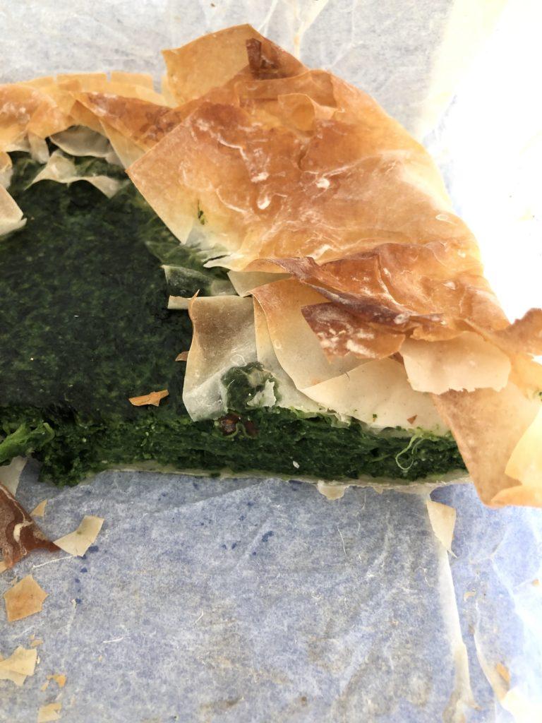 Torta Salata pasta fillo