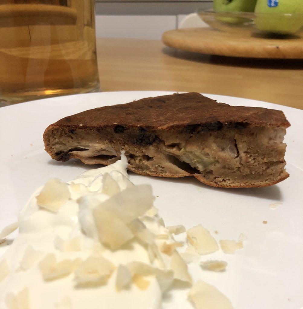 Torta Fit: ricotta cioccolato e pere